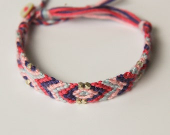 Boho Friendship Braid Woven Bracelet set of two