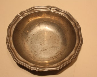 Vintage Wilton Columbia Pewter Bowl