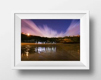 adventure high quality long exposure photography print