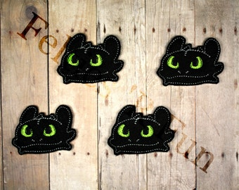 how to train your dragon applique