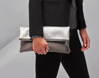 Personnalisés pour les amateurs de pochette, sac pochette, sac à main, accessoires de femmes, femmes sacs, Rose or sac sac de soirée, sacs de demoiselle d'honneur, sur mesure
