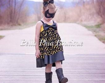 Big Bow Batman/Batgirl Dress