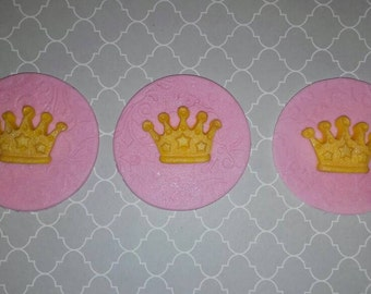 Princess crown toppers, prince crown, royal toppers