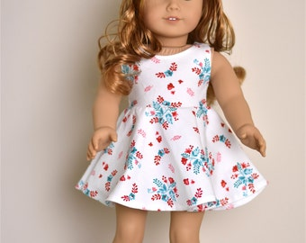 Dress 18 inch doll clothes Doll clothing American made doll clothes