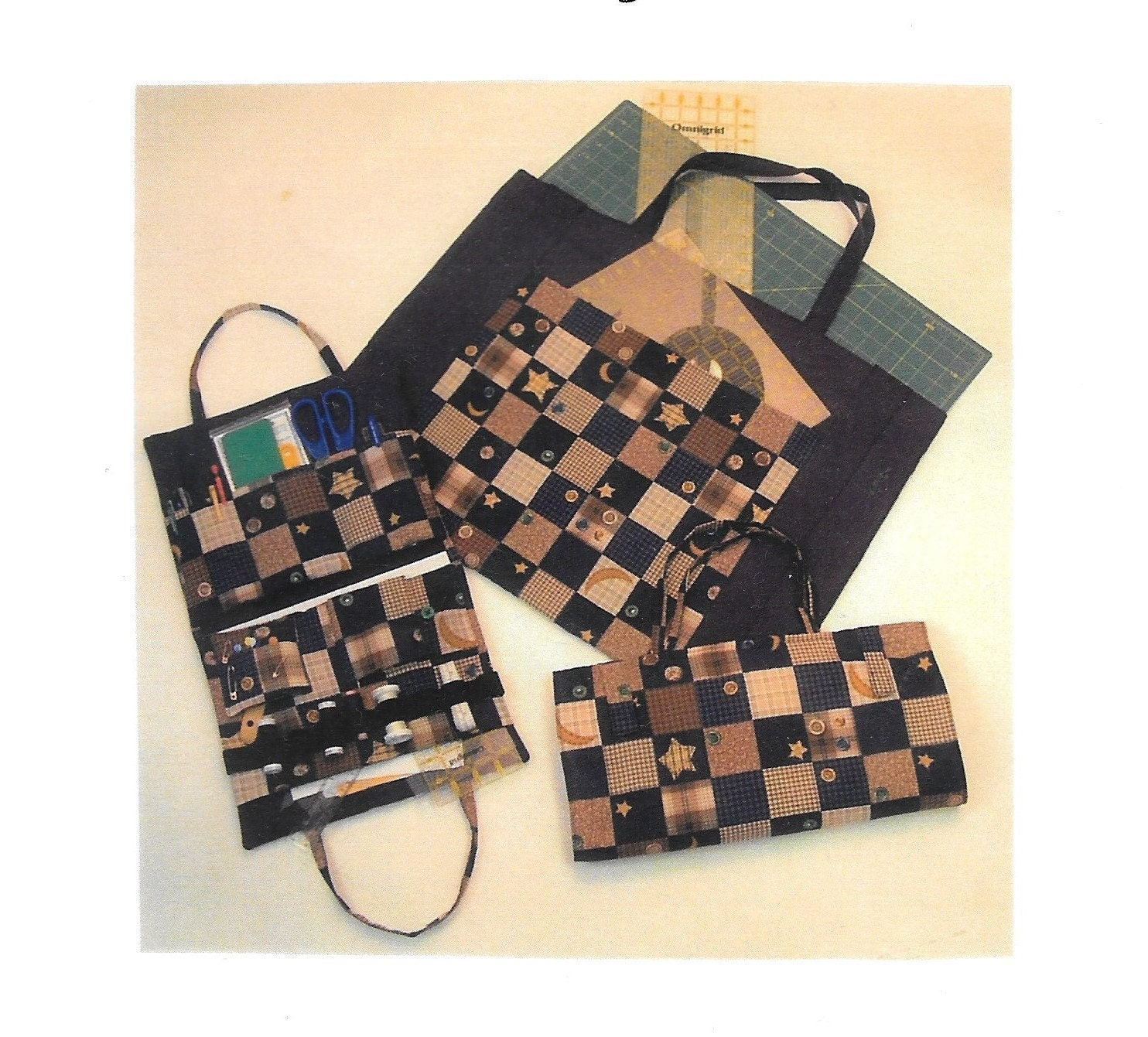 Quilters Tote Pattern Carry-All Bag Pattern Quilter s