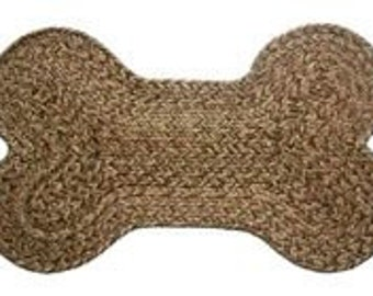 Dog Bone Braided Rug