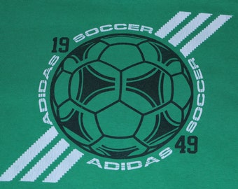 Adidas Soccer - Green T-shirt - XL - Tournament winz