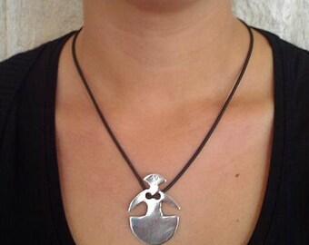 Goddess pendant: Winged Lady