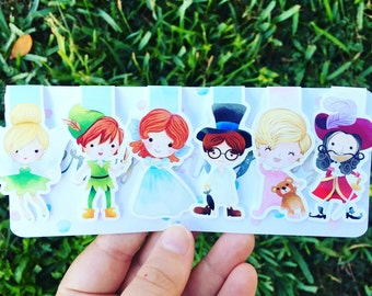 Neverland Magnetic Bookmarks