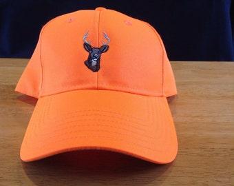 Neon Orange deer Hunting Hat