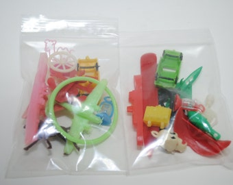 1960's & 1970's carnival bubble gum machine toys