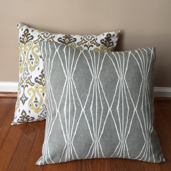 Washable decorative throw pillow cover. Pillow by ModernSweetHome