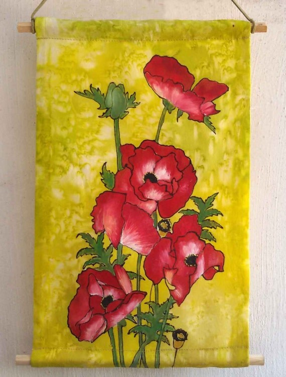 Red Poppies Wall Art - Elitflat