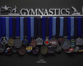 Gymnastics - Male or Female Figures - Allied Medal Hanger Holder Display Rack