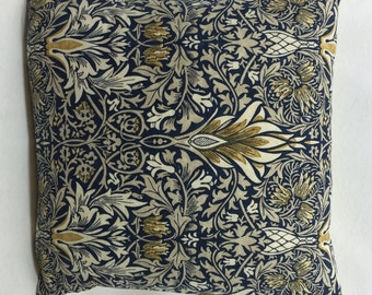 William Morris Snakeshead  DM3P224469 Indigo Hemp  Cushion Covers Many Sizes New Design