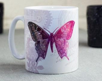 Cosmic decoupage Animal Mug