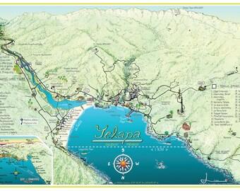 Yelapa Map 2014