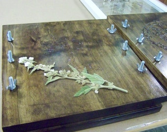 Herb and flower press