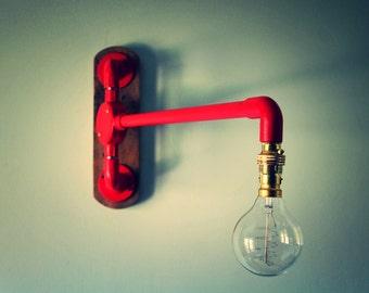 Industrial Lighting - Lighting - Vintage Light - Rustic Lighting - Wall light - London - Lights - Rustic - Vintage - Swing light
