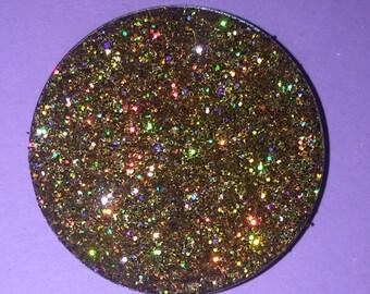 Prismatic Gold Pressed Glitter Eyeshadow