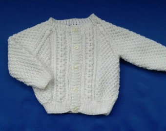 Baby Cable Patterned Cardigan