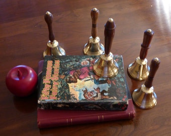 Solid Brass Dinner Bell