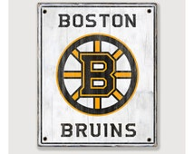 Popular items for boston sports on etsy Bruins room decor