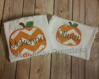 Fall Pumpkin shirts