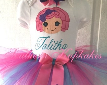 Boutique LALALOOPSY Tutu Pettiskirt Pageant Birthday Party NWT New All Sizes Custom Set