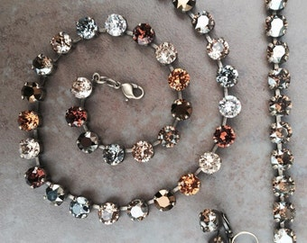 Fall Multicolored Necklace, Bracelet, or Earrings