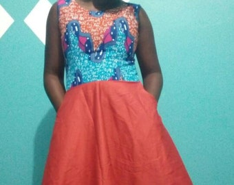 African wear dress for ladies