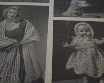 vintage gift knitting booklet