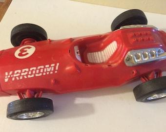V-RROOM Race Car Toy by Mattel 1963