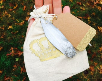 Muslin Gift Bags + Bridal Party Gift Bags + Fit For A Queen