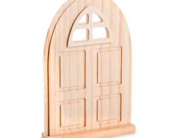Miniature door etsy for Wooden fairy doors that open