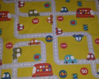 Cars Transportation Child Lap Weighted Blanket ~12x20 inches - 1-2pounds