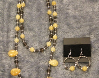 Necklace and Earring set - Item No. 19