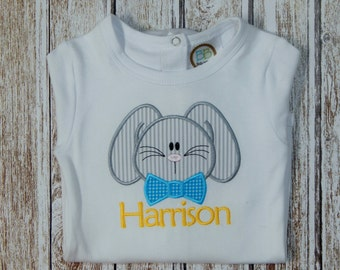 BOY'S EASTER SHIRT; Boy's personalized Easter shirt; Boy's Easter; Baby boy Easter; Boy's Easter bodysuit; Baby Boy Easter; ships 3-5 days