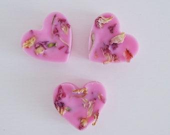 Rose tarts