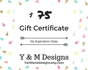 Gift for Coworker - Best Gift for Sister - e-Gift Certificate - Last minute Gift ideas for Her - Gifts under 75 - Last Minute Gift