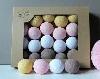 Cotton Balls Ginger 20 items