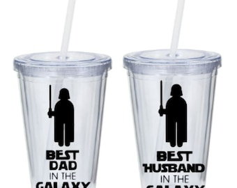 Best Dad/Husband in the Galaxy Tumbler