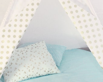 Teepee Golden Polka /TEEPEE & SET