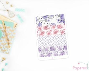 Lavender Love Vertical Washi