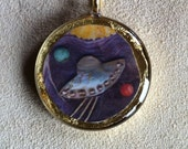 The Space Ship Pendant