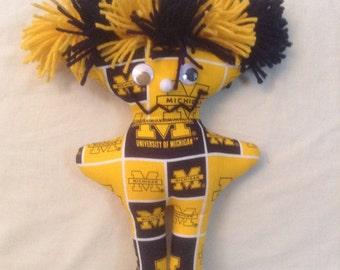 University of Michigan Dang it Doll