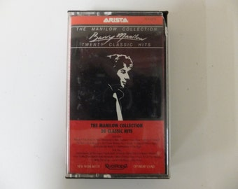 Barry Manilow The Manilow Collection 20 Twenty Classic Hits Rare Vintage Music Audio Cassette Tape