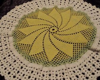 Pinwheel  Circular Baby Blanket