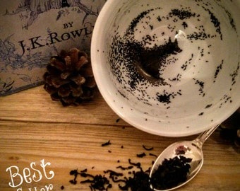 Harry Potter The Grim Inspired Tea Cup & Saucer set - inspired hand made gift