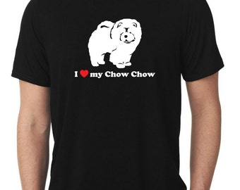 I Love My Chow Chow T-Shirt T515